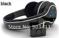 Free shipping the Latest 50 cent bluetooth wireless headphone High Definition on-ear headset with retail box