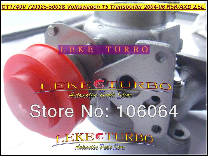 GT1749V 729325-5003S Turbocharger for VOLKSWAGEN T5 Transporter R5K AXD 2.5L 130HP 2004-2006 TURBO (2)