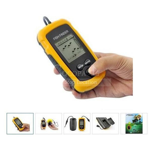 wholesale portable icon radar fish finder enhance muddy water type, Fish Finder