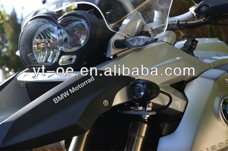 2014 Top New Waterproof IP68 Cree LED motorcycle bike seat cover, Dirt Bike Headlight Motorbike Motorcycle Light Cover