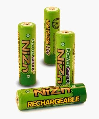 USA  PowerGenix Batterys 1.6V No. 7 AAA nickel-zinc rechargeable  Ni-Zn Battery Pack Set
