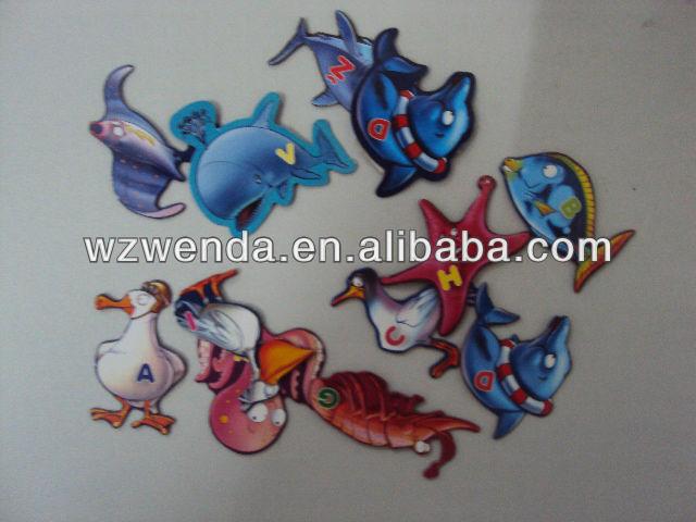 (2013 fty supply) promotional paper fridge magnet