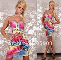 Коктейльное платье , minidress,  /multicol lc2317/1 LC2317-1
