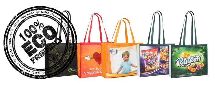 Non Laminated, HQ Printed, Non-woven bags
