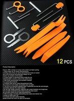 12in1 Car stereo removal tools car sound maintenance tools car repair tools