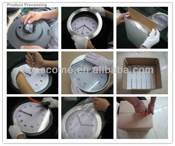 (S2707) silicone alarm clock home decor clock
