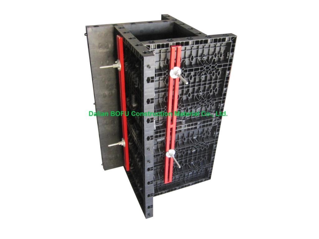 Plástico cofragem sistema de parede para construção