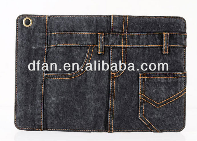 New series jeans case for ipad 2