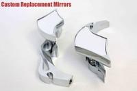 Боковые зеркала и Аксессуары для мотоцикла motorcycle partsAlloy TWIST DIAMOND Custom Mirror GSXR600 750 1000 1100 Hayabusa CHROME
