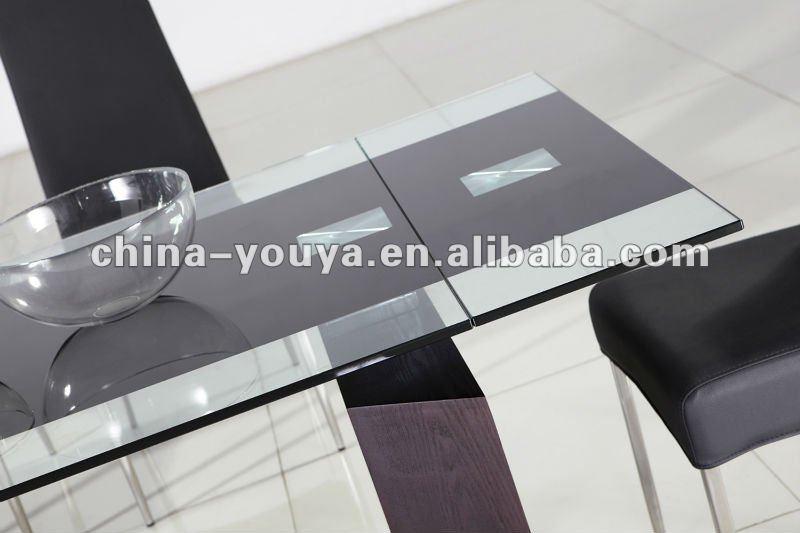 Nuevo cristal extensible mesa de comedor yt907# mesas de comedor ...