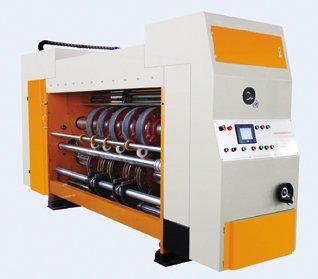 auto high speed printing slotting and die-cutting machine
