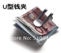 Danish stainless steel wallet money clip card holder notes folder
