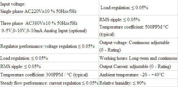 0-100V 10A XSJ Intelligent CNC DC Power Supply