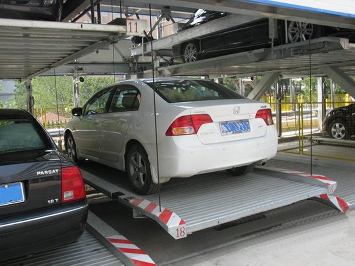 Hot! 2-3 Layer Automatic Parking Lot System/ Desiree Car Lift Vertical Parking/ Car Stacker Parking Garage Equipment