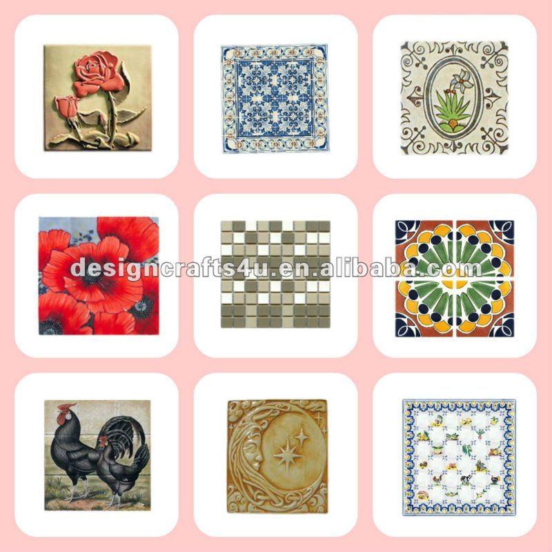 Ceramic tiles art