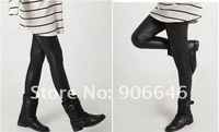 Женские носки и Колготки Leather leggings 360g 87CM black Korea's fashion pants winter warm Legging CHINA POST
