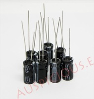 Конденсатор 100pcs/lot 47UF/50V electrolytic capacitor
