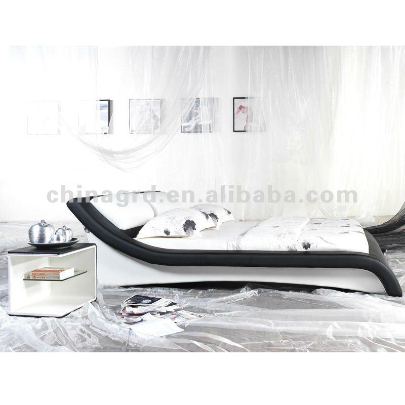 White Leather Bed Latest Design Double Geman Beds Bett - Buy Bett