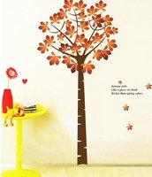 golden money tree parlour bedroom TV setting decoration removable wallpaper