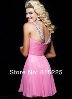 Коктейльное платье Charming Sext Short Cocktail Party Dresses Homecoming Dress Gown Spaghetti Straps Sequin Ruffle Mini Length Zipper Back Hot