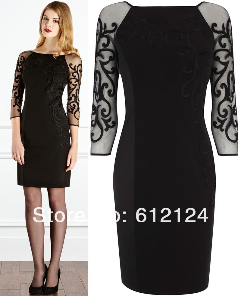 Платье Черное С Золотым С Доставкой