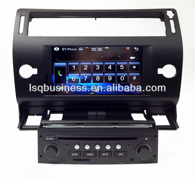 LSQ Star Car Dvd Player For Citroen C4