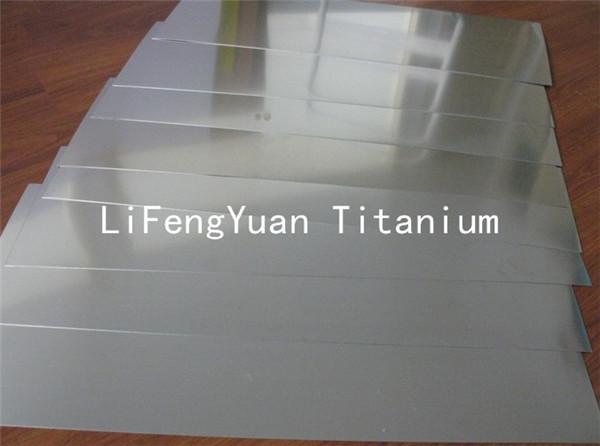 1 мм тонкими Титан лист для медицинского применения, moq:1 кг