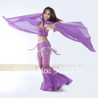 free shipping belly dance accessory/belly dance veil/belly dance gauze headscarf