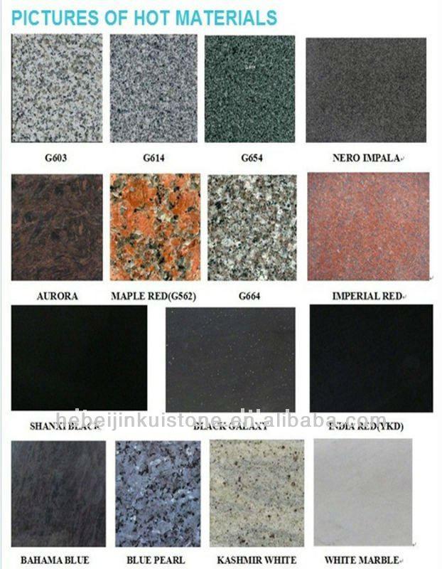 Best seller de bancadas em granito preto tampos de mesas - Granito nacional colores ...