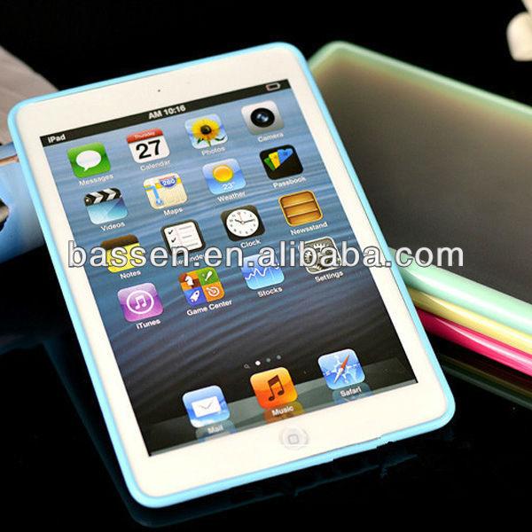 plastic tpu hard case for ipad mini back cover