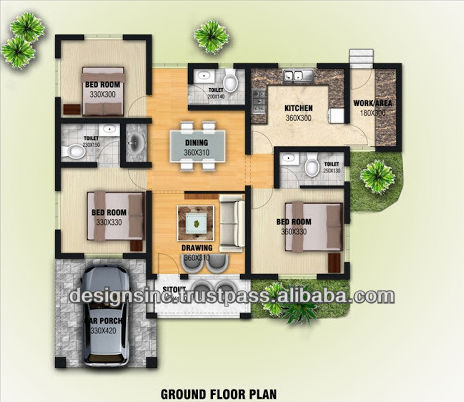 Home planning and designing in 3d views buy 3d house House plan 3d view