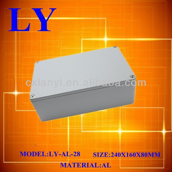2014 new model Aluminum extrusion enclosure made in China