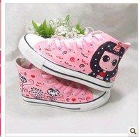 Детские кроссовки 2011 new baby Canvas shoes cute kids shoes boy & girl leisure shoes