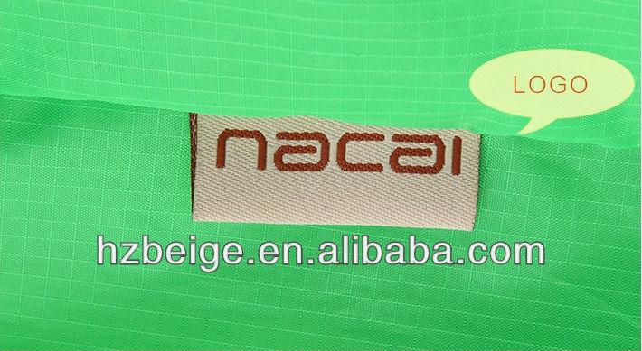 Eco nylon nonwoven foldable shopping bag