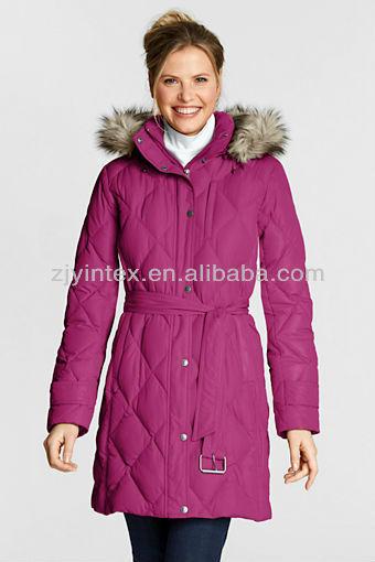 Women's winter down jackets
