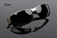 Женские солнцезащитные очки 2013 Hot Selling Brand New Cool Designer Fashion Men's Metal Frame Polarized Sunglasses Glass Ship Sun Glasses Eyewear