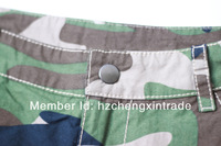 Женские шорты Retail 2013 women camouflage print summer short wahsed hot pants XS-XL
