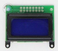 ЖК-модуль 0802C 8X2 characters LCD module blue backlight 50pcs