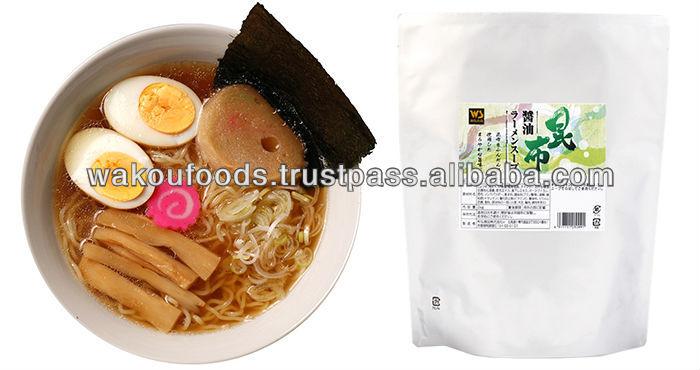 Konbu soy sauce ramen soup (AB-571) importer of japanese products for noodle soup 2kg