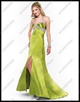 Платье на студенческий бал 2012 Long Fitted Halter Prom Dress PE293