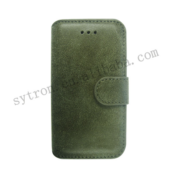 PU leather cell phone case for iPhone 4/4S