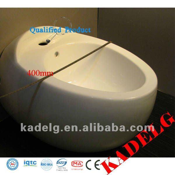 Round White High Quality Easy Bidet Toilet