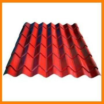 colored steel glazed roof tile making roll forming machine