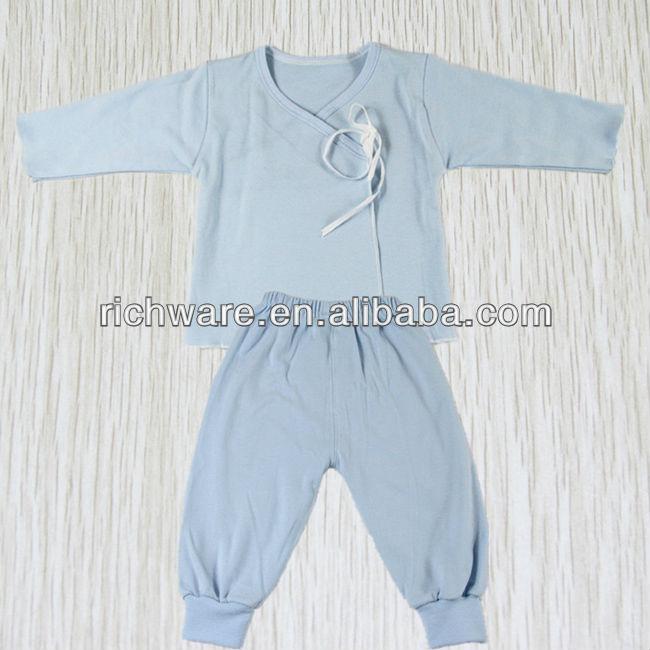 New Design Cotton Blue Baby Suits
