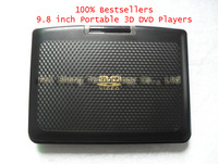 100% Cheapest  9.8 inch Portable Home 3D DVD Players with Avaliable Russian French Best Gifts for All Selections + Freeshipping