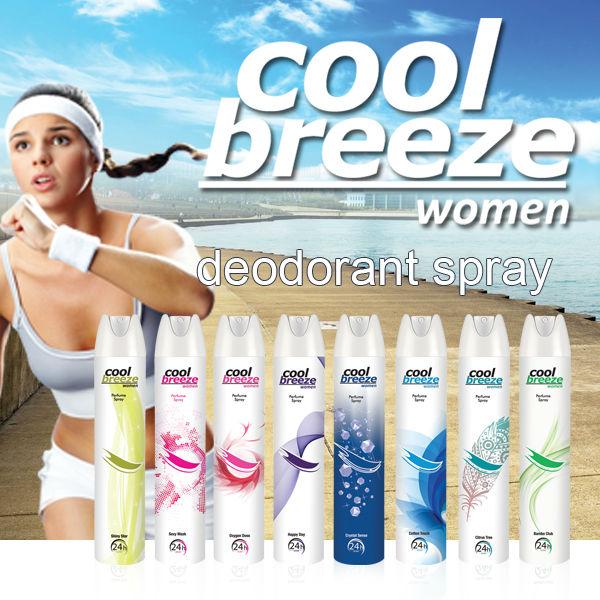 Deodorant Body Spray Perfume France Fragrance