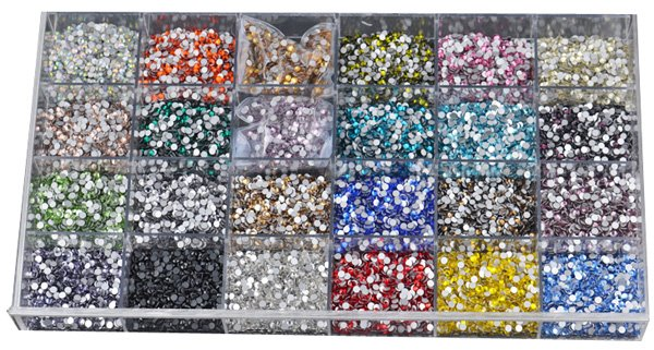 LY10357,Non hot fix rhinestone Nail art rhinestones ss4 Crystal clear CPAM free,1440pcs/bag,good quality