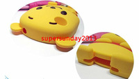 Чехол для для мобильных телефонов 2013 new brand Hot Selling Cute 3D Bear Soft Silicone Case Cover for iPhone 3 3G 3S Yellow