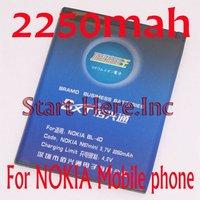 Батарея для мобильных телефонов 2250mah BL /4d BL4d NOKIA n97mini/e7/e5/00/e7/00/n8/e6,
