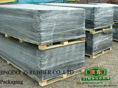 Grooved Rubber Mat (stable mat)/anti-slip rubber sheet